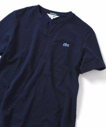 SHIPS JET BLUE/SHIPS JET BLUE×LACOSTE: スキッパー カノコ ポロシャツ/501566659