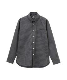 MAC HOUSE(men)/Navy オーガニックコットン チェックシャツ 591200C/501566703
