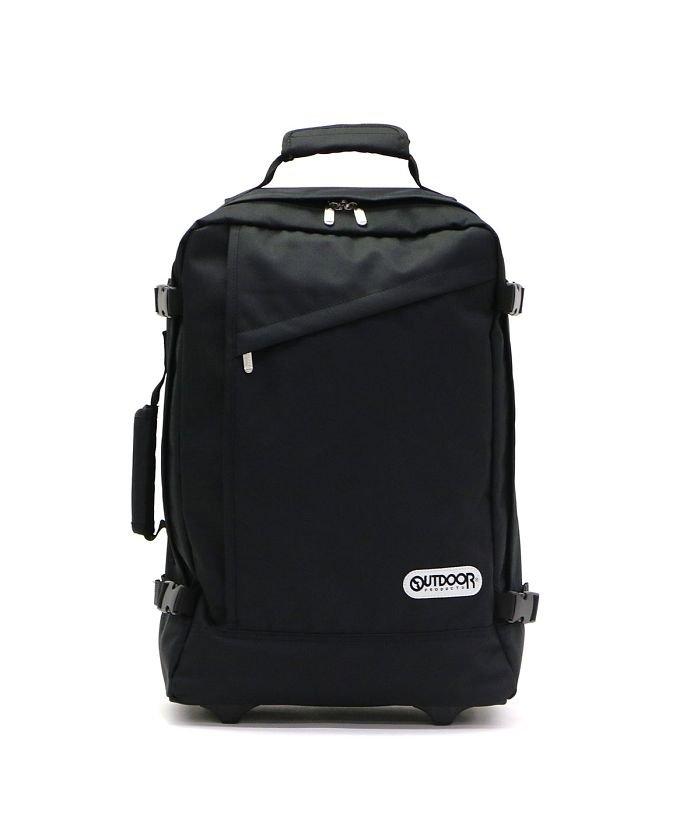 ギャレリア アウトドアプロダクツ キャリーケース OUTDOOR PRODUCTS リュックキャリー2 スーツケース 機内持ち込み 35L 62402 ユニセックス ブラック F 【GALLERIA】