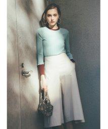 Mila Owen/スカート見えガウチョパンツ/501567757