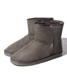 Shoes in Closet/ショート丈 ふわもこファームートンブーツ/500523952