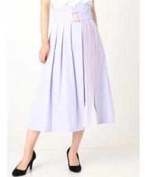 MERCURYDUO/プリーツ切替ラップ風スカート/501550556
