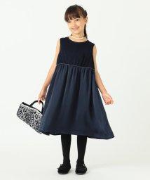 こどもビームス/ARCH&LINE / サテン ギャザー ドレス (115~145cm)/501569144