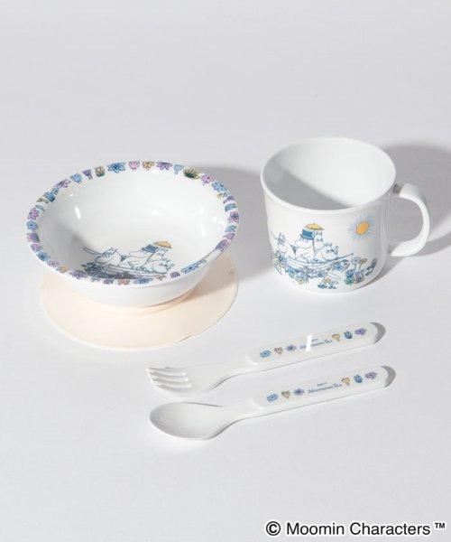 Afternoon Tea LIVING(アフタヌーンティー・リビング)/Moomin×Afternoon Tea/お食事セット(ベビー用)/FR3519201435