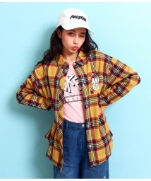 ANAP GiRL/チェックビッグシャツ/501555536