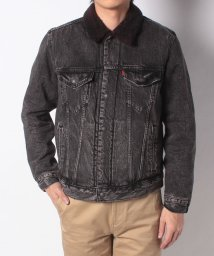 LEVI'S MEN/TYPE 3 SHERPA TRUCKER BRUSTED TRUCKER J/501555841