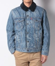 LEVI'S MEN/TYPE 3 SHERPA TRUCKER INDIGO HUNTER TRUC/501555842