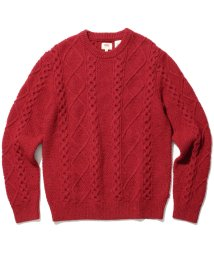 LEVI'S MEN/FISHERMAN CABLE CREW CRIMSON/501555845