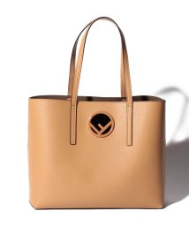FENDI/【FENDI】トートバッグ/SHOPPER SHOPPING BAG 【DARK HONEY/TAUPE】/501563665