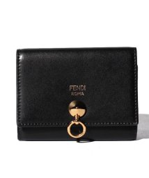FENDI/【FENDI】カードケース/BY THE WAY【NERO+ORO SOFT】/501563666