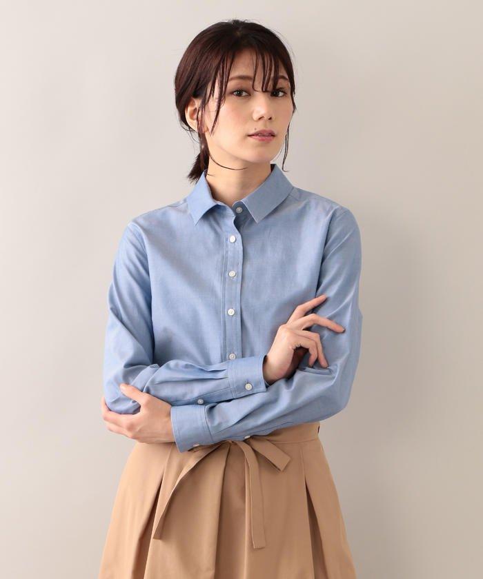 【ウォッシャブル】ベーシックシャツ