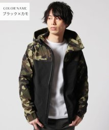 THE CASUAL/(バイヤーズセレクト) Buyer's Select T/PU撥水ストレッチシティマウンテンパーカージャケット/501508385