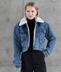 LEVI'S LADY/CROPPED SHERPA TRUCKER FIGHT OR FLIGHT/501556092