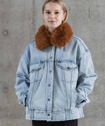 LEVI'S LADY/OVERSIZED SHERPA TRUCKER KILLING ME SOF/501556094