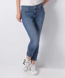 LEVI'S LADY/711 ASIA ZIP STUD SKINNY CANNONBALL BLUE/501556099
