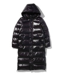 LEVI'S LADY/THE BATWING LONG PUFFER BLACK LAMINATED/501556115
