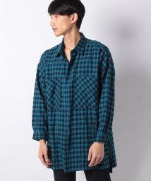 STYLEBLOCK/先染めチェックビッグシャツ/501562367