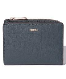 FURLA/【FURLA】二つ折り財布 BABYLON S BI-FOLD BABYLON PU75 ARDESIA e/501567593