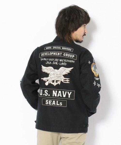 AVIREX(アヴィレックス)/A-2 デッキ ジャケット/U.S.NAVY A-2 DECK JACKET/6192124-50