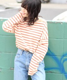 JOURNAL STANDARD relume Men's/【19SS】ドライコットン ボーダーフレンチ ロングTシャツ/501573699