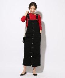 SHIPS WOMEN/Urvin:フロントボタンジャンパースカート/501574652