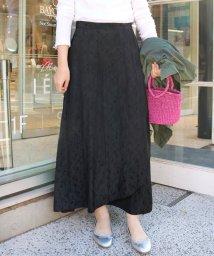 SLOBE IENA/フレア レイヤード スカート◆/501574660