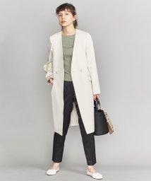 BEAUTY&YOUTH UNITED ARROWS/BY ツイルダブルノーカラーコート/スプリングコート/501575779