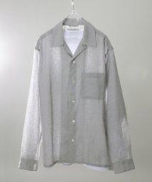 JOURNAL STANDARD/【 HERDMANS LINEN】オープンカラーシャツ/501580393