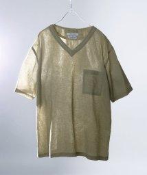 JOURNAL STANDARD/【 HERDMANS LINEN】 VネックTシャツ/501580396