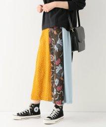 SLOBE IENA/GHOSPELL Mixed Print ロングスカート/501580401