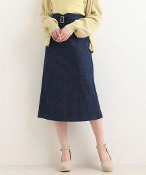 MAJESTIC LEGON/ウエストデザインIラインスカート/501469234