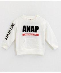 ANAP KIDS/ロゴプリントトレーナー/501555522