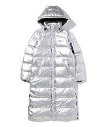 LEVI'S LADY/THE BATWING LONG PUFFER LAMINATED SILVER/501556116