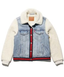 LEVI'S LADY/TRCKER W/TDDY COLL SLV LIGHT WASH W/ NA/501556123