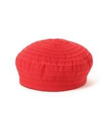 Ray BEAMS/Ray BEAMS / グログラン ボーダー ベレー帽/501446335