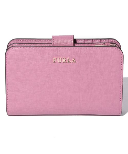 FURLA(フルラ)/【FURLA】FURLA フルラ 二つ折り財布 BABYLON M ZIP AROUND BABYLON PR85 AZALEA f/992614
