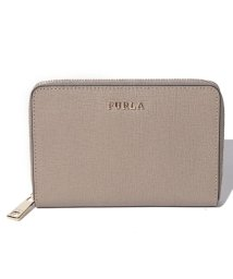 FURLA/【FURLA】FURLA フルラ 二つ折り財布 BABYLON M ZIP AROUND BABYLON PT16 SABBIA b/501567580