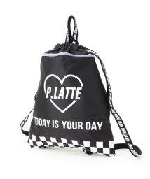 PINK-latte/ポケット付ナップサック/501583762