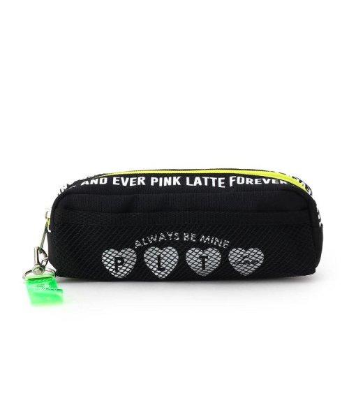 PINK-latte(ピンク ラテ)/ハートメッシュスリムポーチ/99990932011365