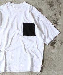 coen/【WEB限定】USAコットンビッグシルエットクルーネックTシャツ/501583868
