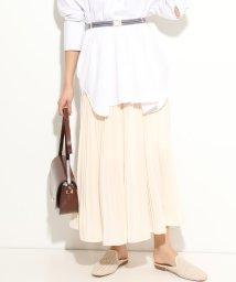 ViS/【美人百花5月号掲載】ジョーゼットプリーツロングスカート/501583887