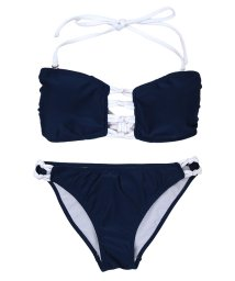 SEA DRESS/バックリボンデザインバンドゥビキニ/水着/500431506