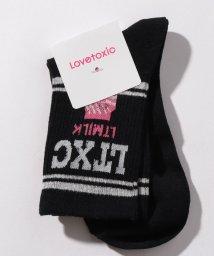 Lovetoxic/モチーフクルーソックス/501569370