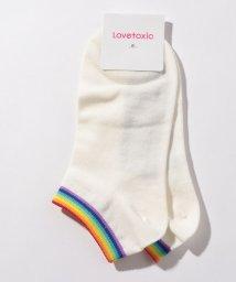 Lovetoxic/レインボースニーカーソックス/501569373