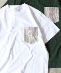 coen/【女性にも人気】SMITH別注ポケットTシャツ19SS(一部WEB限定カラー)/501584266