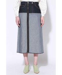 ROSE BUD/リメイク風台形スカート/501584368
