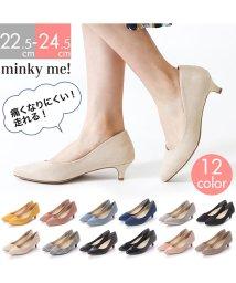 minky me!/ポインテッドトゥ5cmヒール走れるキレイめパンプス /501585588