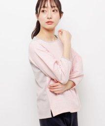 smart pink/ラメツイードミックスプルオーバー/501585669