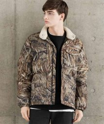LEVI'S MEN/DOWN BARSTOW PUFFER CAMO/501555869