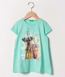 BENETTON (UNITED COLORS OF BENETTON GIRLS)/おしゃれペットロールアップ半袖Tシャツ・カットソー/501567859